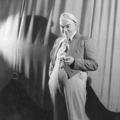 Vaudeville comedian and impresario Billy Purl, ca. 1920s